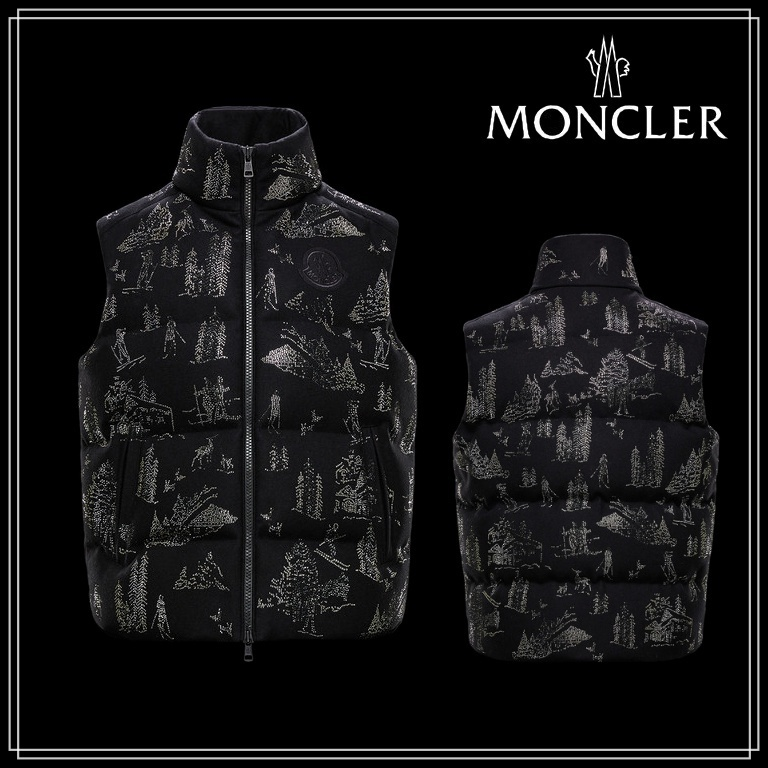 2 MONCLER 1952★TITAN★BOUTIQUE EXCLUSIVE★ウール/ナイロン★ (MONCLER/ダウンベスト) 0921A53040A0173999