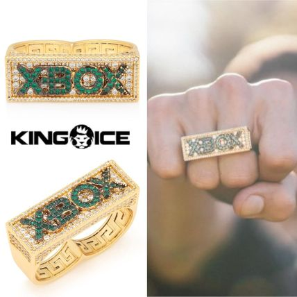 KING ICE × XBOX エックスボックスツーフィンガーリング