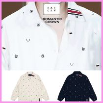 ROMANTIC CROWN☆エクスプス着用☆RMTCRW CLUB COTTON JACKET☆