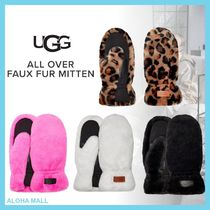 【UGG】ALL OVER FAUX FUR MITTEN♪スマホ対応手袋♪