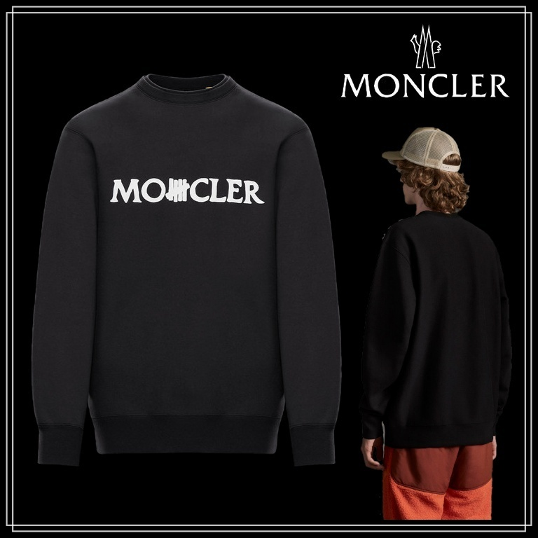 2 MONCLER 1952★Undefeated★クルーネックスウェット★綿★21SS (MONCLER/スウェット・トレーナー) 0928G71810V8187999