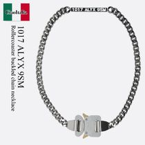1017 Alyx 9Sm Rollercoaster buckled chain necklace