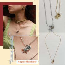 【August Harmony】 Starfish necklace (silver/gold)