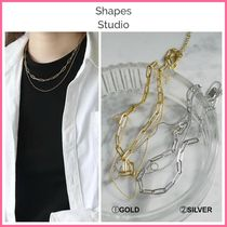 NY発!! ◆Shapes Studio◆ DOUBLE LAYERED CHAIN NECKLACE