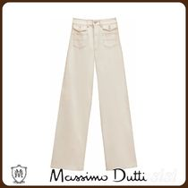 MassimoDutti♪STRAIGHT FIT JEANS WITH POCKETS