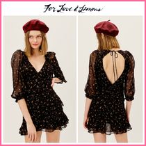 2021Cruise新作 ☆For Love & Lemons* Juliana Mini Dress
