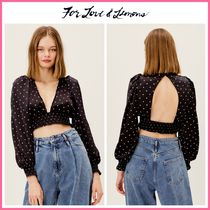2021Cruise新作 ☆For Love & Lemons* Carissa Crop Top