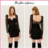 2021Cruise新作 ☆For Love & Lemons* Joanna Mini Dress