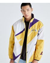 JackJones NBA LAL BUDDY JACKET-MD-ORフルジップブルゾン