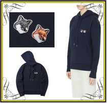 【MAISON KITSUNE】Double fox head patch hoodie パーカー