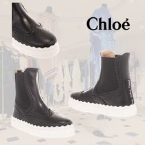 SALE**CHLOE**クロエ★LAUREN ANKLE BOOTS IN BLACK