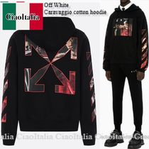 Off White Caravaggio cotton hoodie