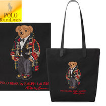 特別価格!Polo Ralph Lauren Polo Bear Twill Shopper Tote