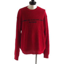 Supreme::Comme des Garcons Cotton Sweater:L[RESALE]