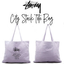 【STUSSY】City Stack Tote Bag シティ スタック トートバッグ