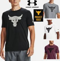 UNDER ARMOUR×Project Rock★Brahma Bull ロゴ半袖 1357186