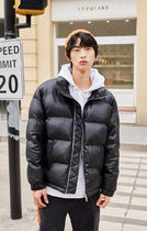 JackJones JJC BEESTON PADDED PU JACKET-MDメンズブラック