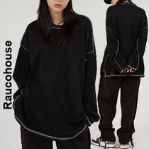 Raucohouse(ラウコハウス)★Light Seam Line Over Knitwear