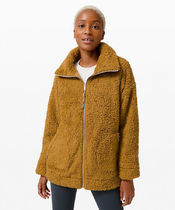 もこもこジャケット☆ Oh So Sherpa Jacket - Spiced Bronze