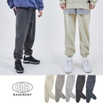 【ONA】21ss新作★ cut-out pigment heavy JOGGER PANTS 5色