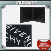 21SS/送料込≪GIVENCHY≫ REFRACTED ロゴ 二つ折り ウォレット
