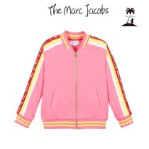 ★The Marc Jacobs★Girls コットンロゴジップアップトップ/2-5Y