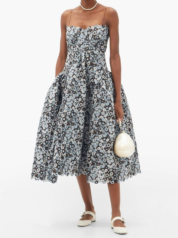 CECILIE BAHNSEN  Leandra floral ドレス (CECILIE BAHNSEN/ワンピース) 62783275