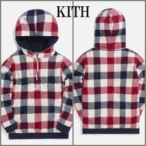 ◇KITH NYC◇ KIDS PLAID QUILTED HARRISON パーカー 送料込