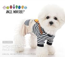 【PUPPY ANGEL】Monsters Face Overall★S〜XL★3color
