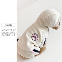 【PUPPY ANGEL】Monsters Color Line Overalls★S〜XL★4color