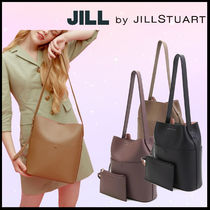 ☆JILL BY JILLSTUART Leather belt strap bag☆