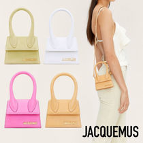 2021SS【JACQUEMUS】Le Chiquito ミニレザーバッグ ロゴ 4カラー