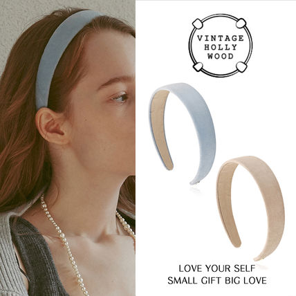 VINTAGE HOLLYWOOD★Carrie Wide Hairband_2Color/ヘアバンド