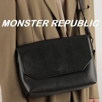 ★MONSTER REPUBLIC★2020新商品/カップル★CROSS BAG [BLACK]