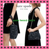 *KATE SPADE*party tweed clutch パーティーツイードクラッチ