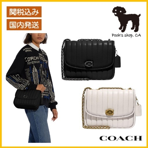【COACH】Madison Shoulder Bag With Quilting◆国内発送◆ (Coach/ショルダーバッグ・ポシェット) 4684