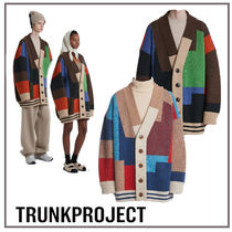 TRUNK PROJECT(トランク プロジェクト) カーディガン 韓国『TRUNK PROJECT』Color Mixed Wool カーディガン