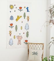 ROMANE(ロマネ) ファブリックその他 【Romane】Brunch brother fabric poster_forest
