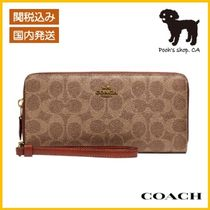 【COACH】Continental Wallet In Colorblock◆国内発送◆