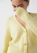 & Other Stories新作☆Bee Button Alpaca Blend Cardigan(yellow