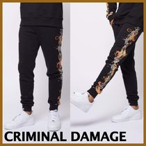 ♦CRIMINAL DAMAGE*BARB FLAMEジョガー♦