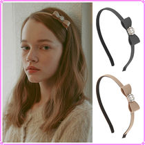 【VINTAGE HOLLYWOOD】Midnight Ribbon Hairband_2Color