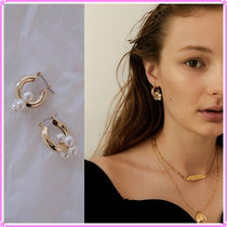 【MIDNIGHT MOMENT.】two hoop earring〜ピアス