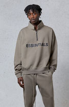 FW20 FEAR OF GOD ESSENTIALS HALF ZIP PULLOVER TAUPE 全サイズ