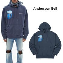 ANDERSSON BELL-Film Archive 20FW Hoodie(CHARCOAL NAVY)
