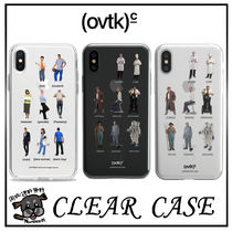 (ovtk) jelly Clear iPhone Case 3種類 (送料/関税無)