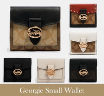 Coach(コーチ) 折りたたみ財布 【セール/送料・関税込み】Georgie Small Wallet