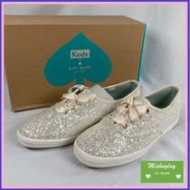【kate spade×keds】即発★キラキラ☆glitter sneakers★US5