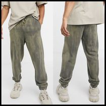 COLLUSION oversized joggers with logo print
