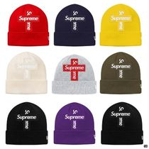 Supreme New Era Cross Box Logo Beanie